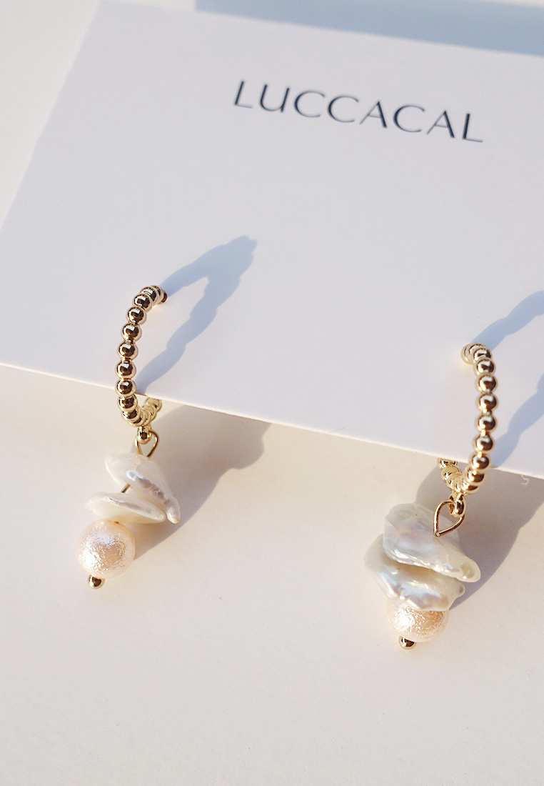 Aleah Pearl Earrings
