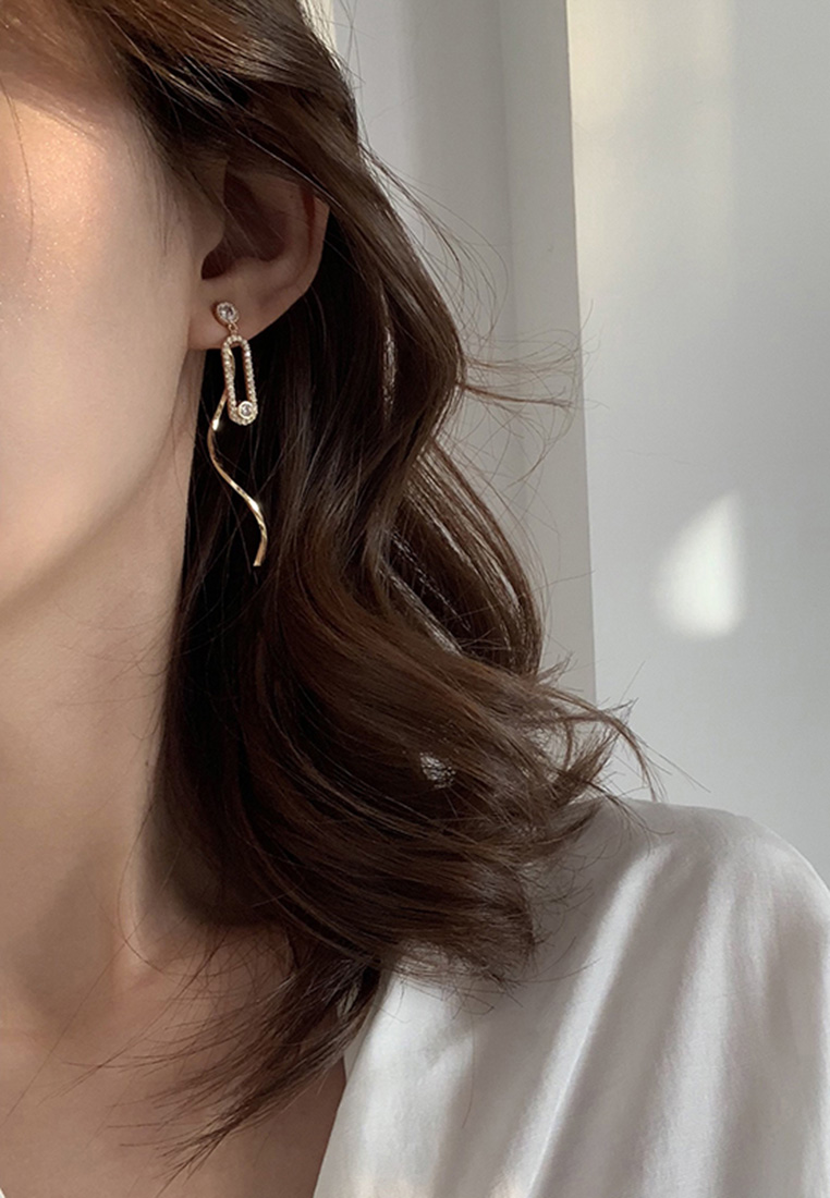 Marquise Two-Way Earrings
