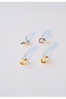 Sailors Knot Stud Earrings