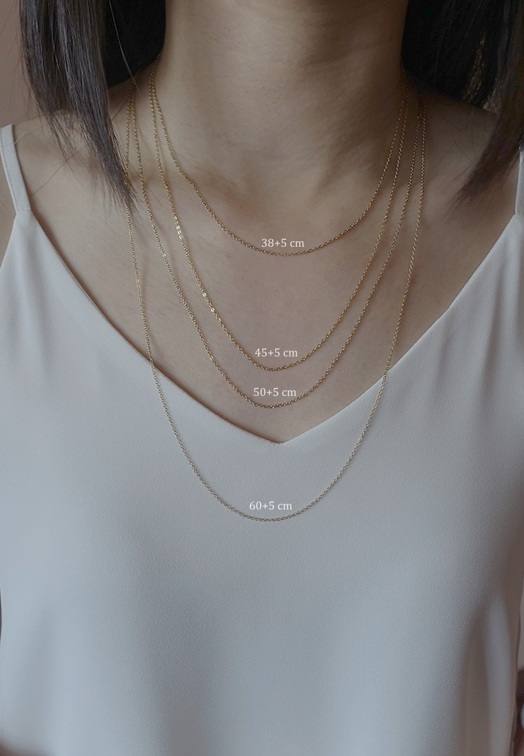 Mother-of-Pearl Round Necklace