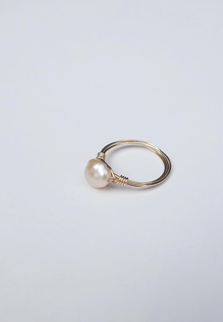 Ember Pearl Ring