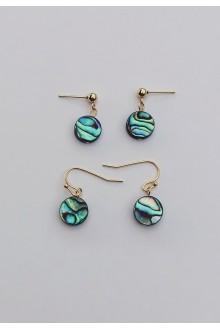 Paua Abalone Shell Earrings