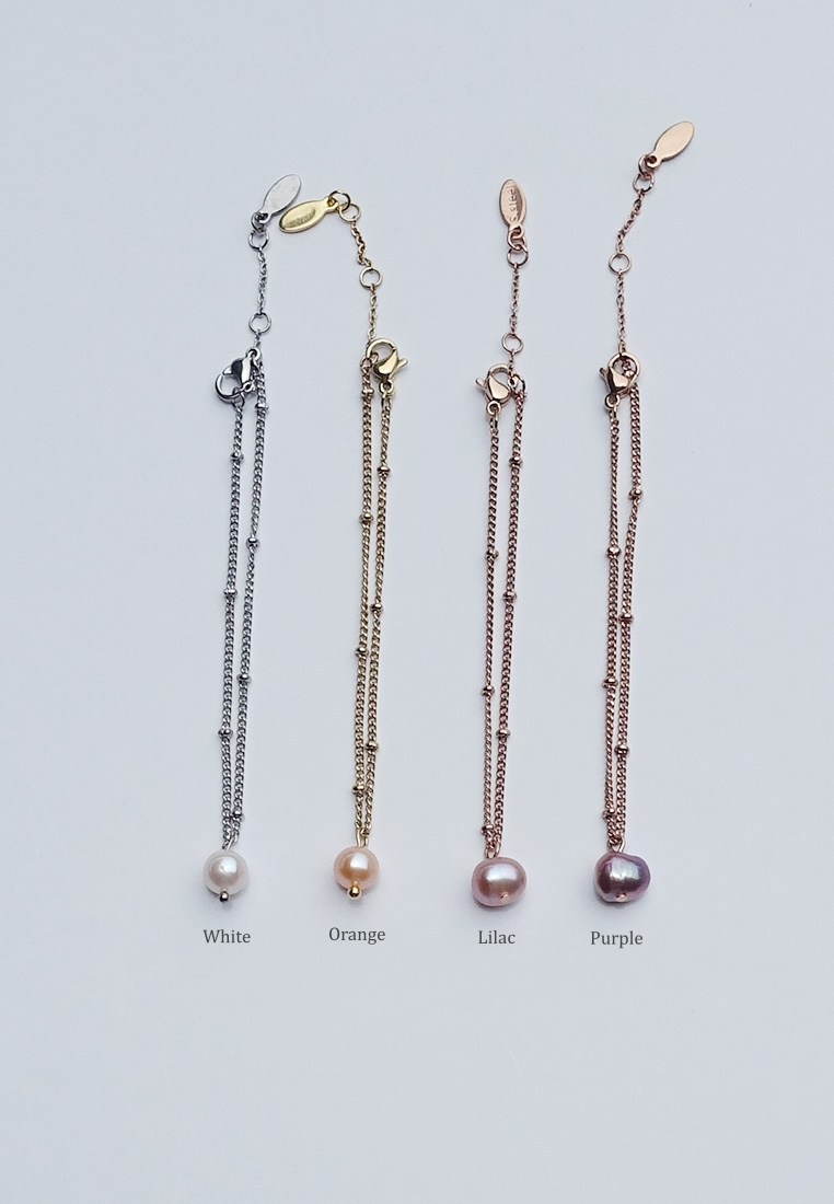 Zev Pearl Bracelet/ Anklet