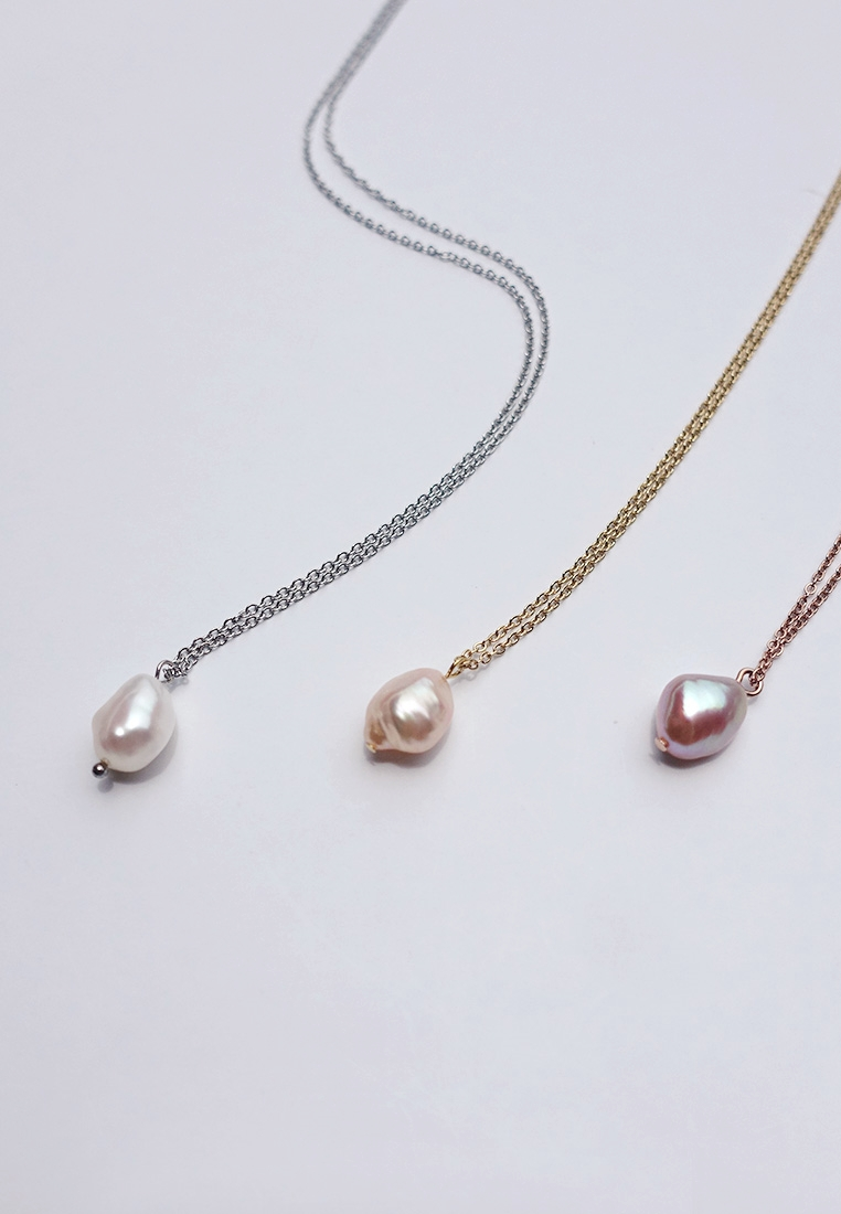 Petite Pearl Necklace