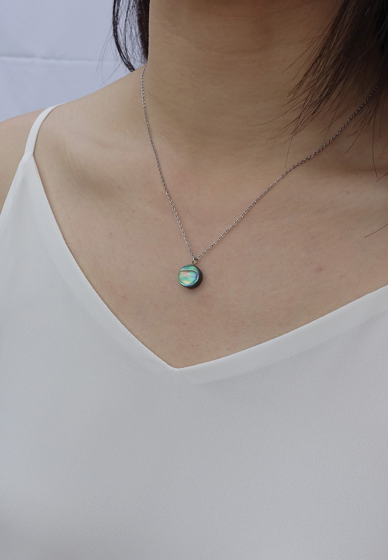 Paua Abalone Shell Necklace