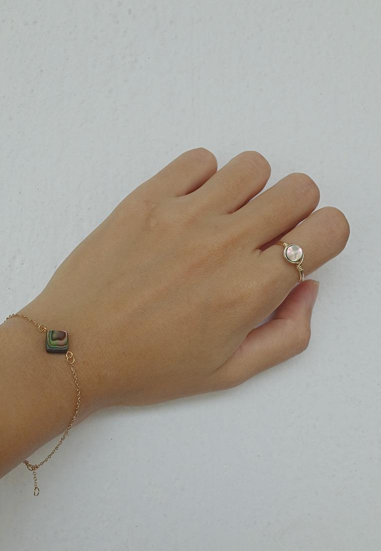Abalone Shell Ring