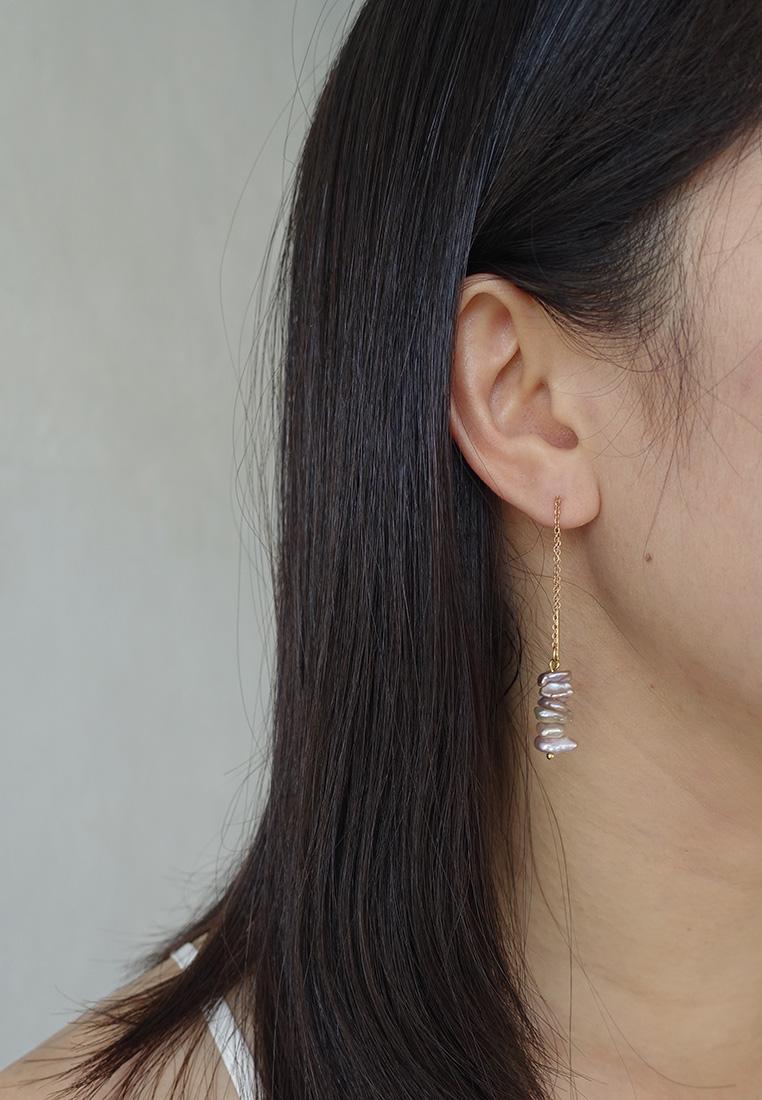 Emil Pearl Earrings