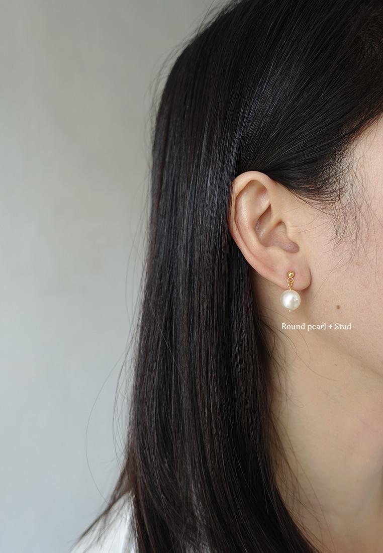 Thurloe Pearl Stud Earrings