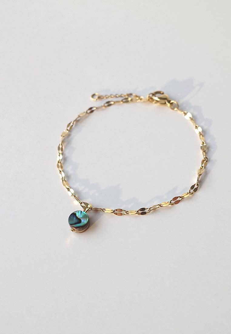 Abalone Shell Lace Bracelet