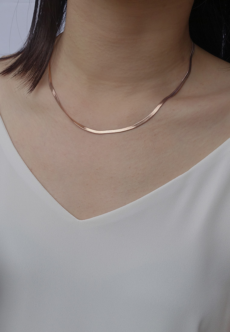 Agnes Herringbone Necklace