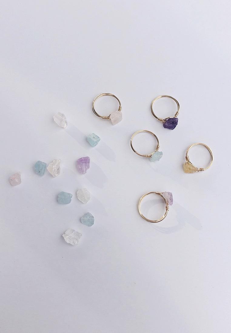 Raw Crystal Ring