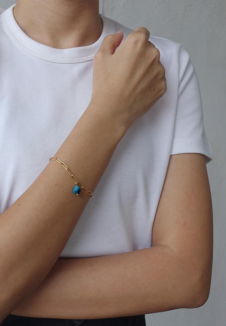 Blue Tiger's Eye Bracelet