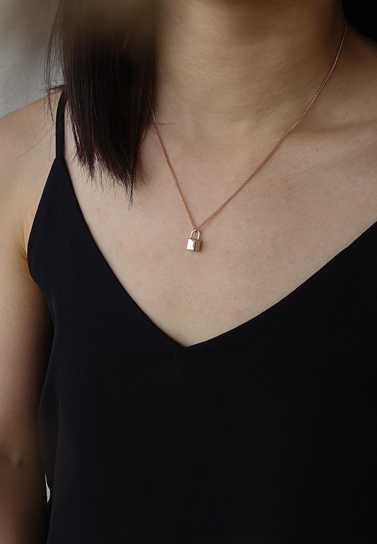 Lock Pendant Necklace