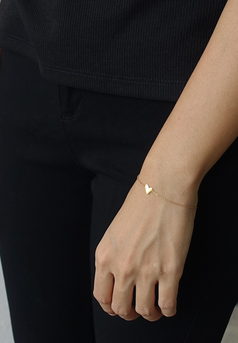 Whimsical Heart Bracelet