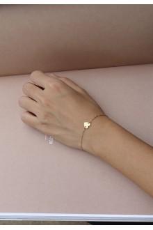 Gia Heart Bracelet