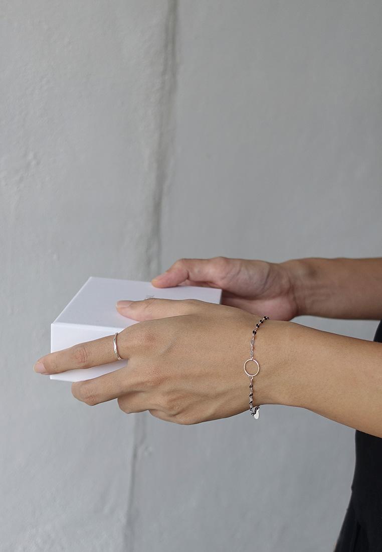Cammie Silver Bracelet
