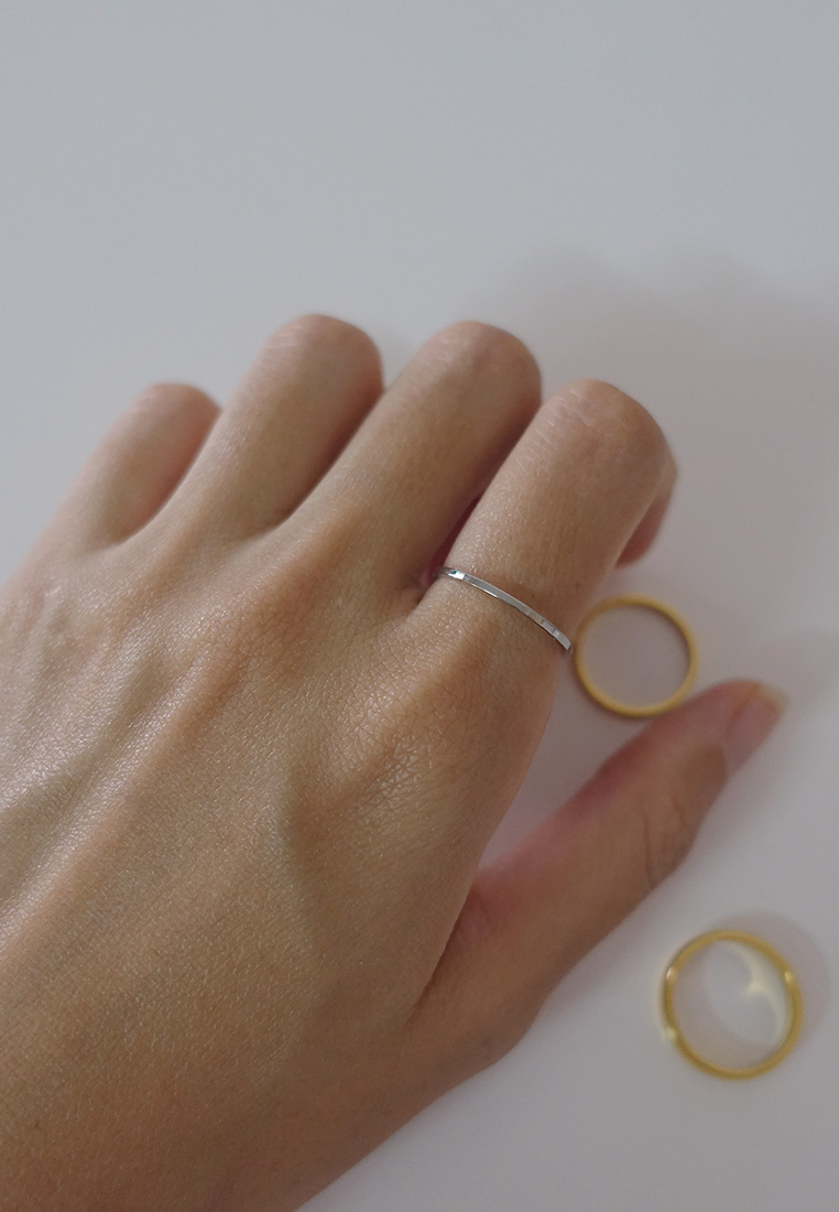 Classic Thin Ring (Silver)
