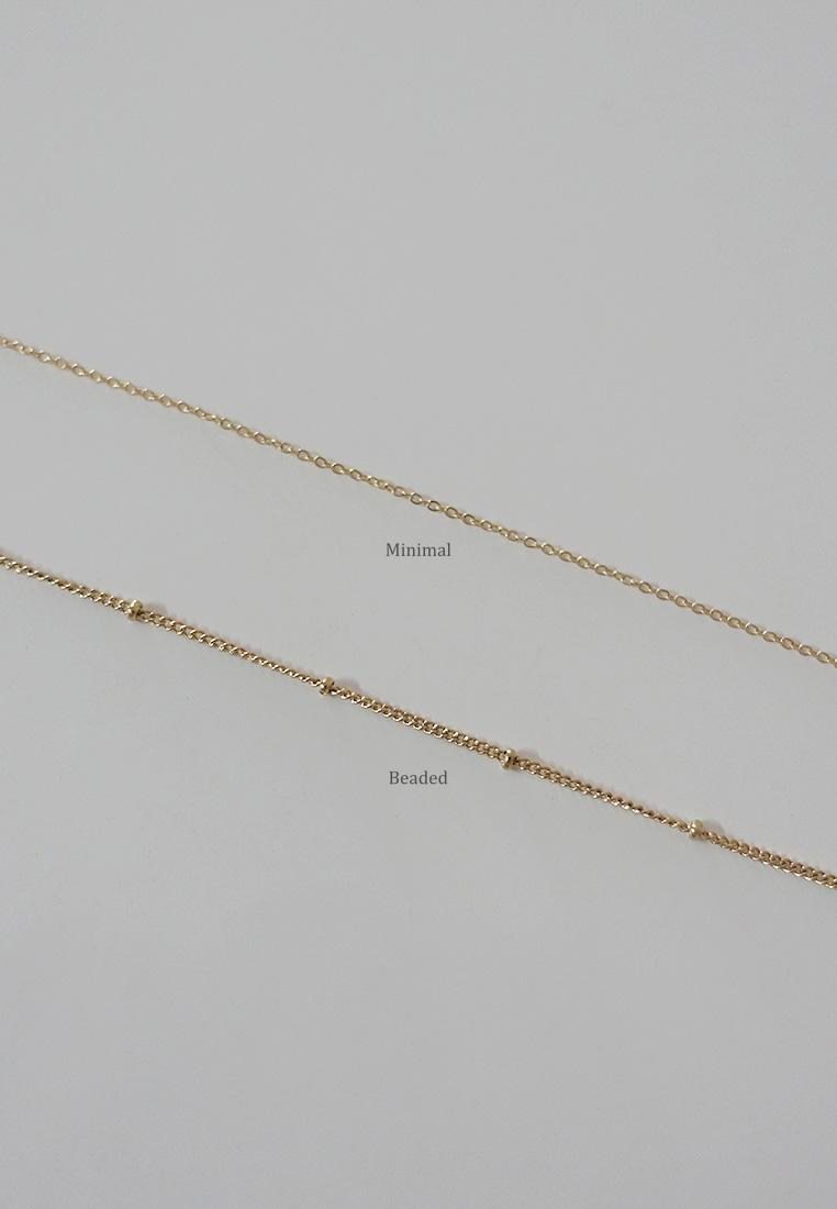 Lev Initial Necklace