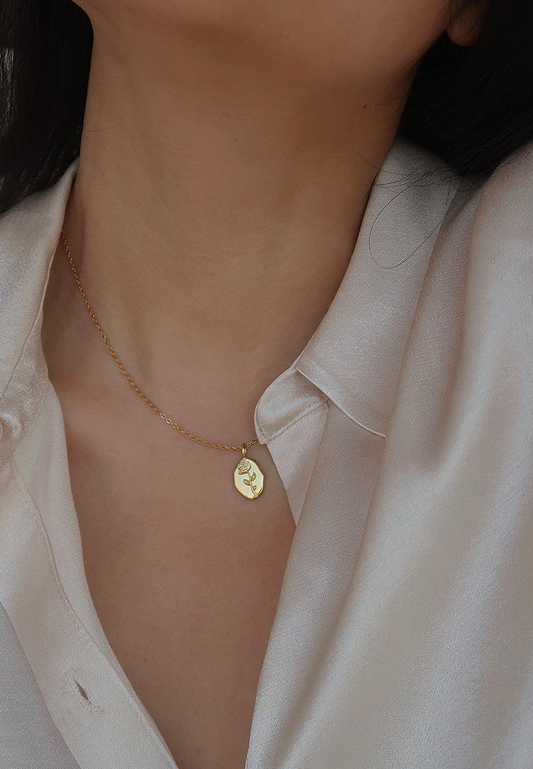 Rose Flower Necklace