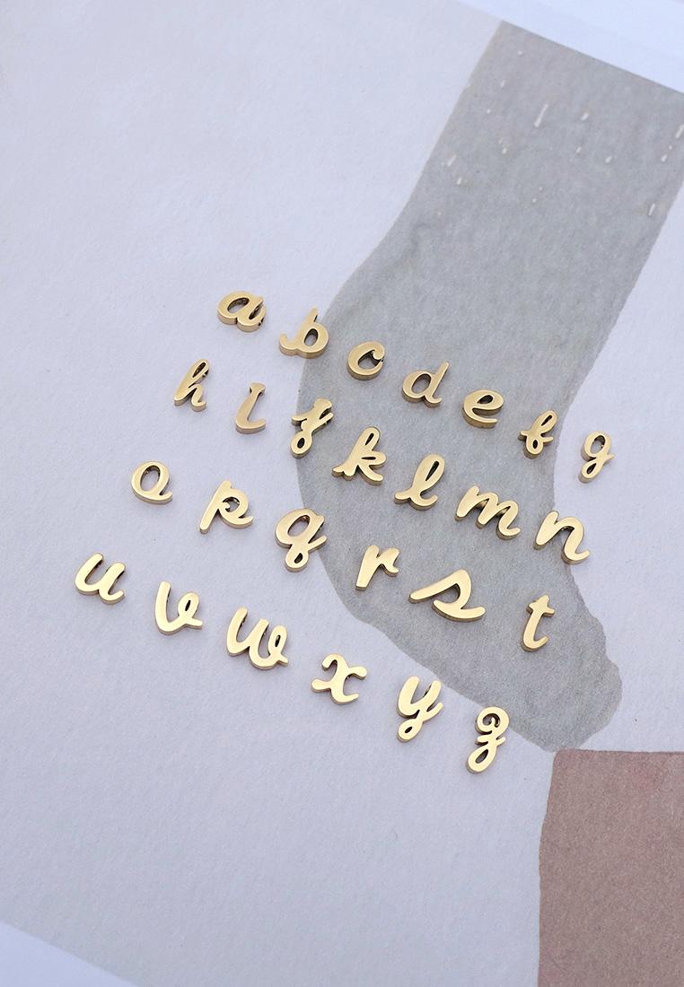 Script Initial Bracelet