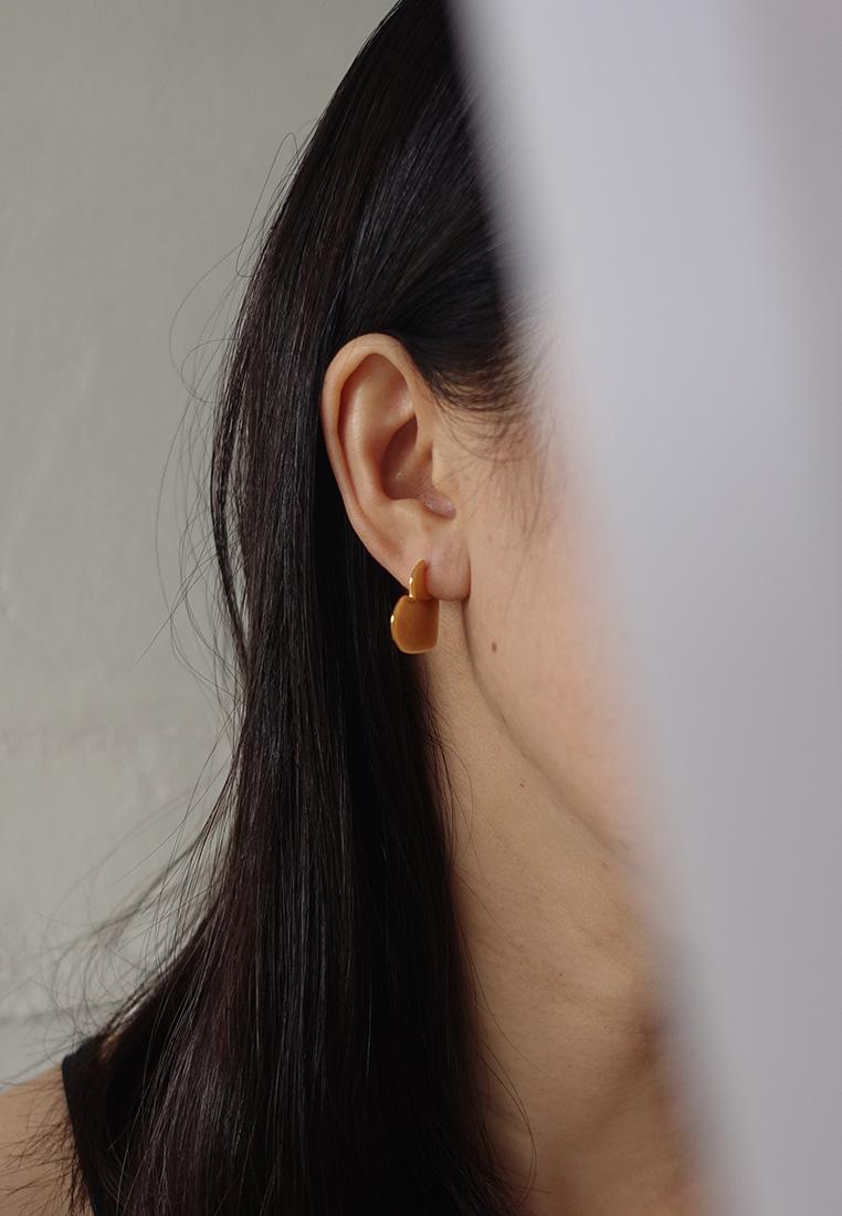 Niamh Heart Stud Earrings