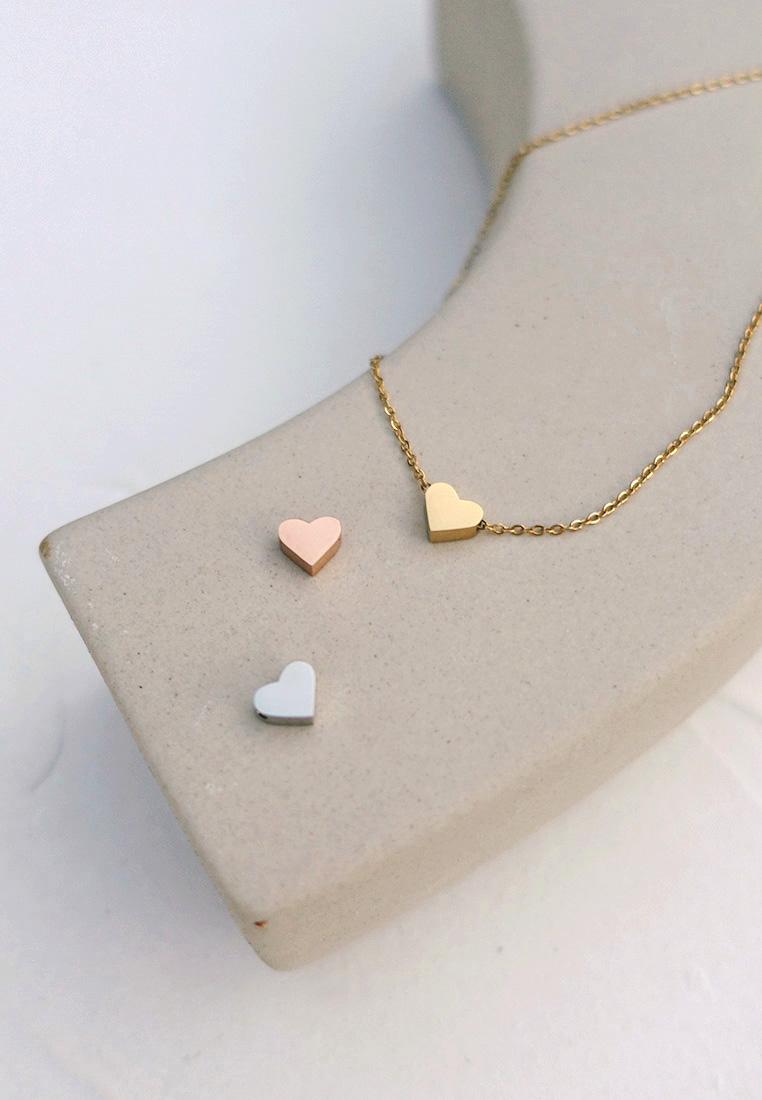 Dainty Coeur Necklace