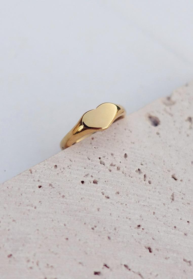 Signet Coeur Ring
