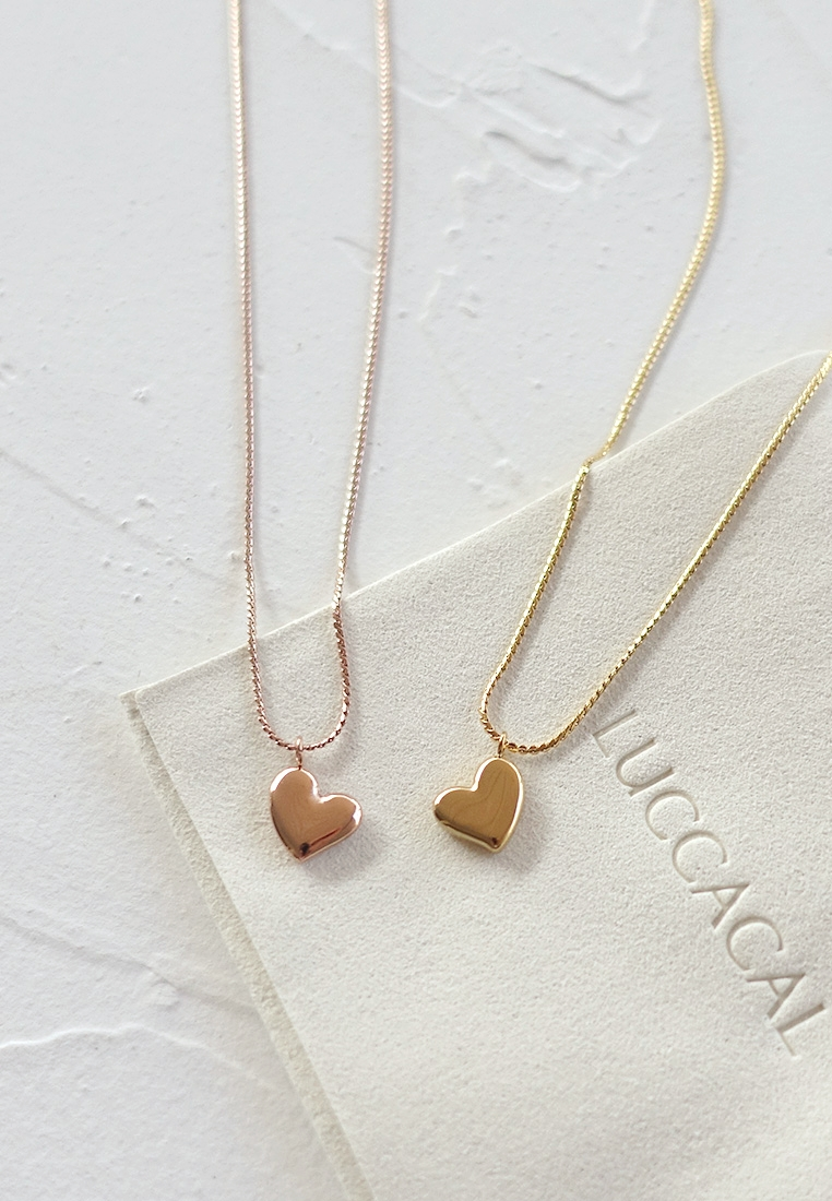 Whimsical Heart Necklace