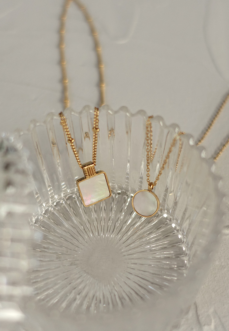 Muir Mother-of-Pearl Necklace