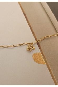 Clover Lock Bracelet