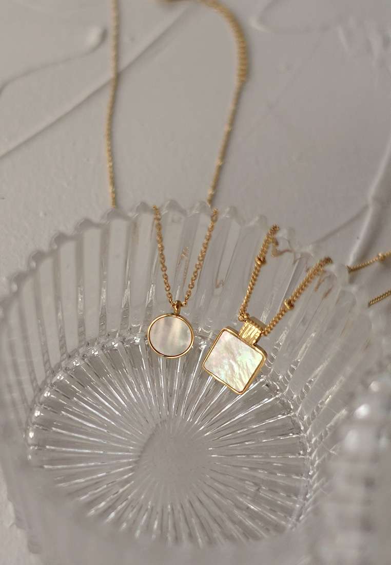 Lanka Mother-of-Pearl Necklace