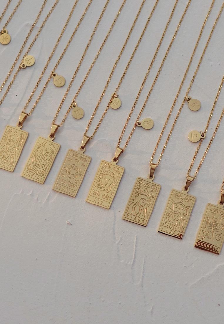Zodiac Tarot Necklace