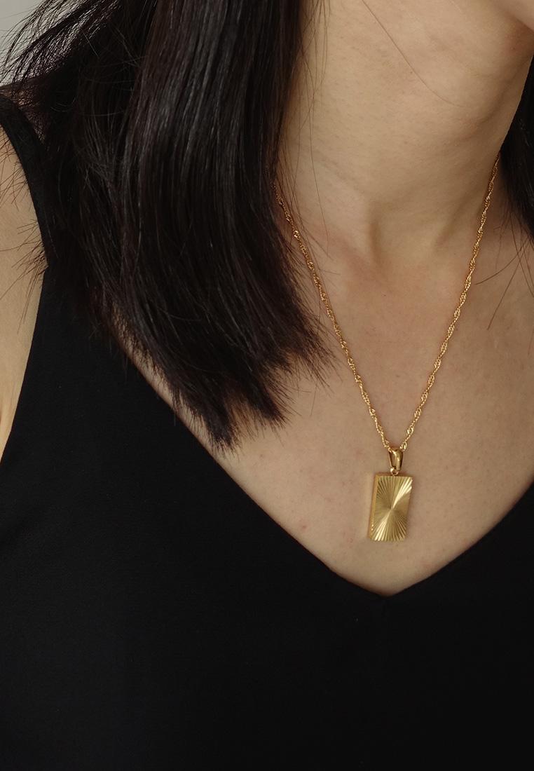 Sunburst Shield Necklace