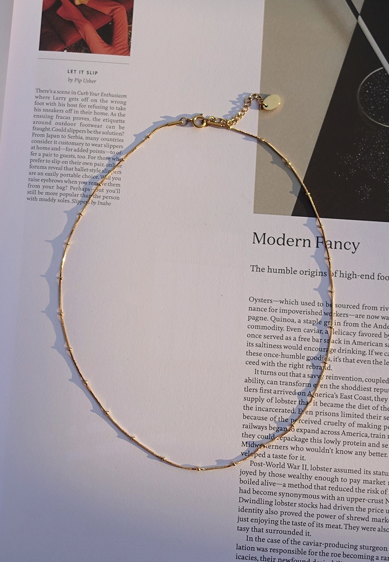 Satellite Snake Chain Necklace