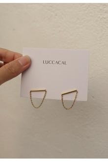 Bar & Chain Earrings