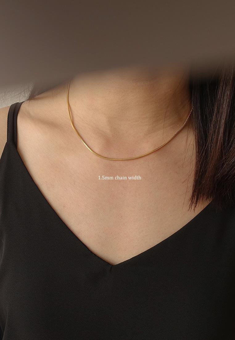 Snake Chain Choker Necklace