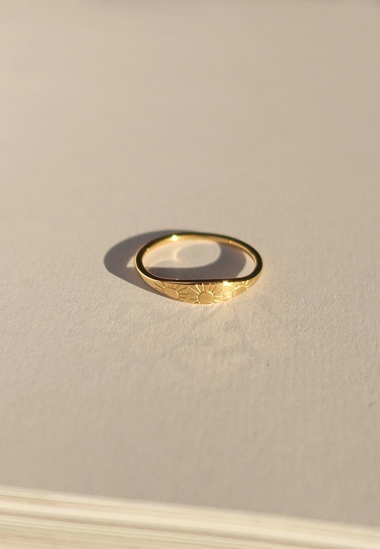 Rising Sun Ring