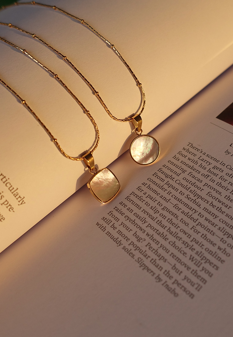 Misha Mother-of-Pearl Necklace