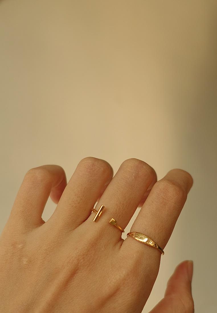 Bar & Cube Ring