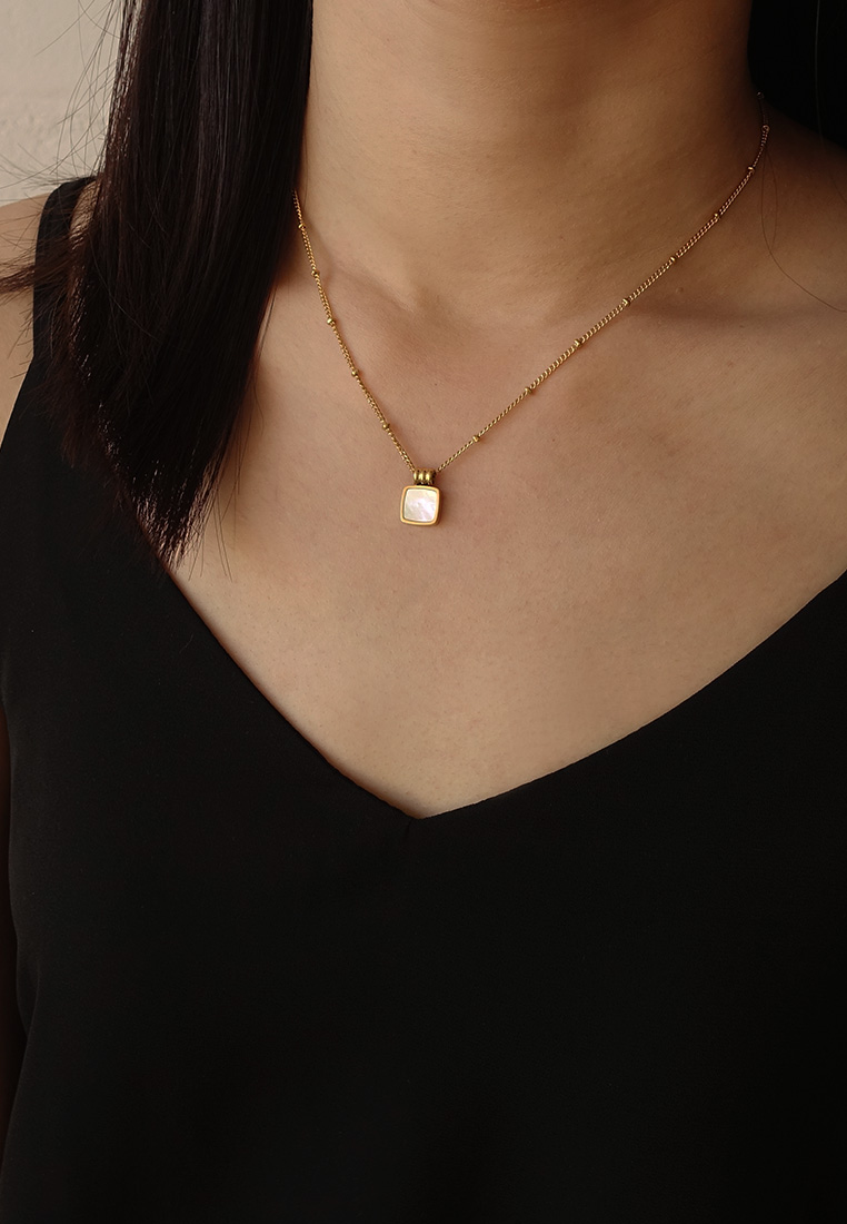 Miller Mother-of-Pearl Necklace