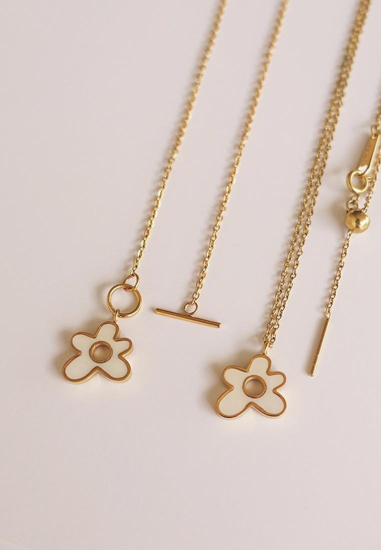 Asha Flower Necklace