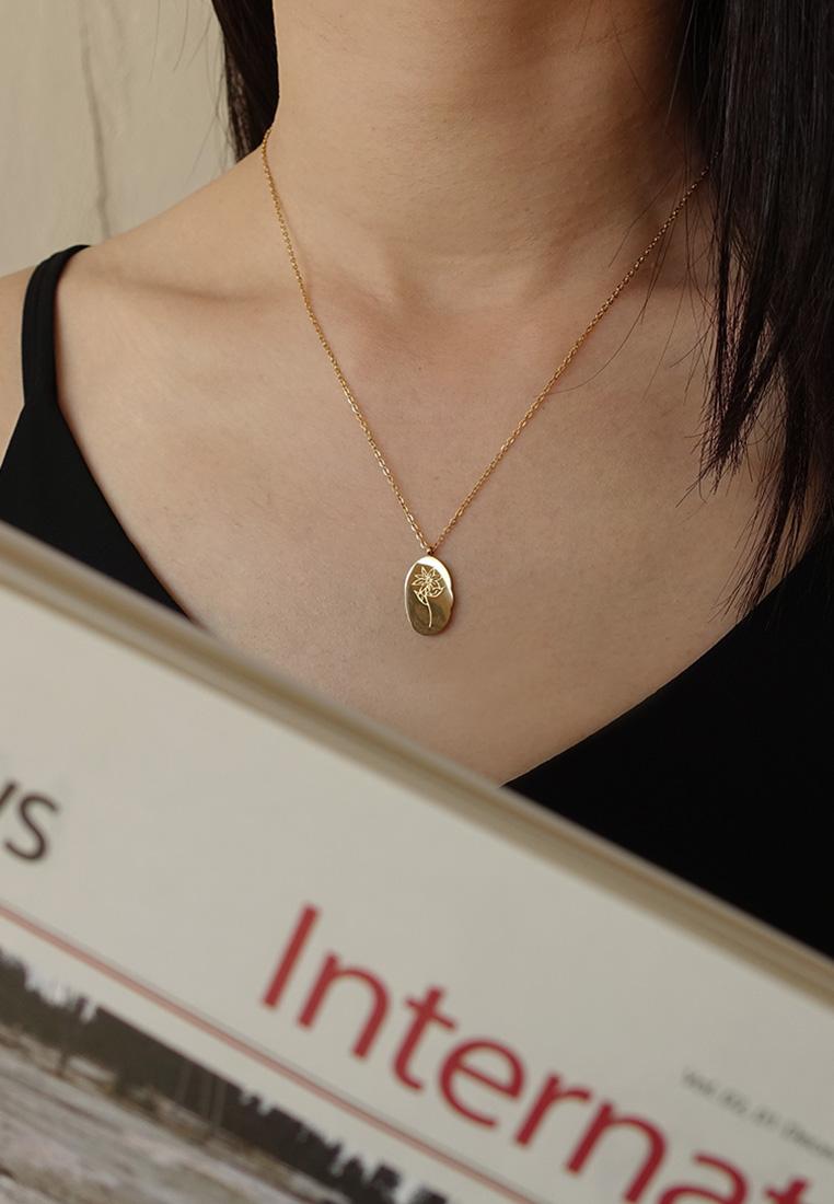 Birth Flower Necklace
