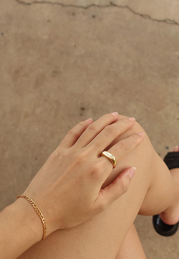 Daisy Signet Ring