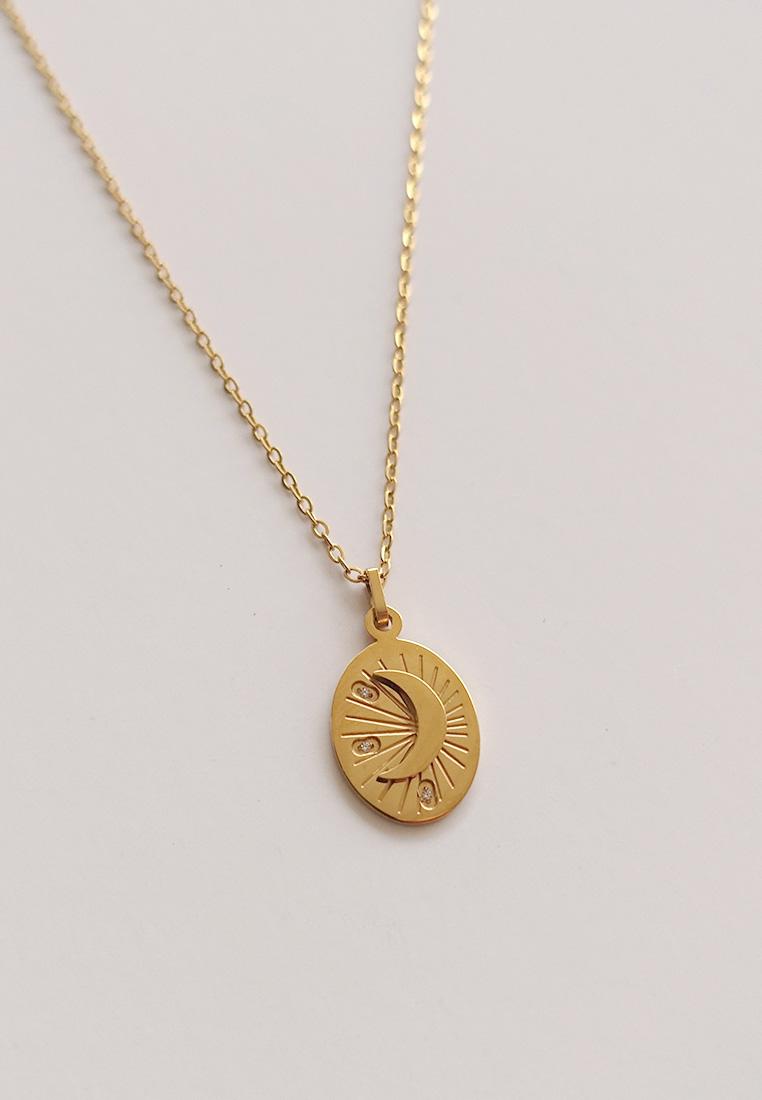 Venus Moon Necklace