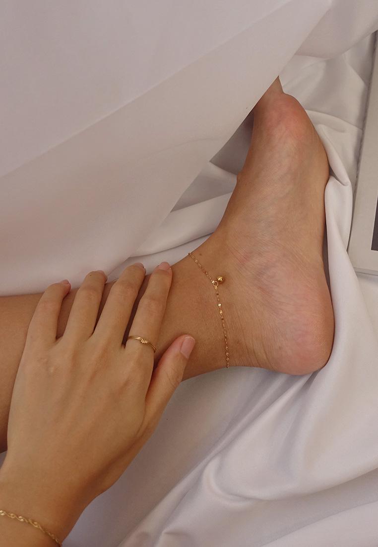 Beaded Charm Anklet