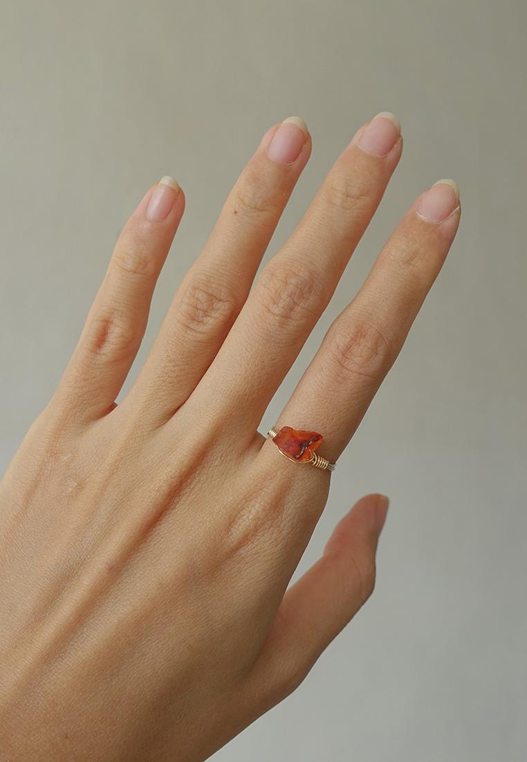 Raw Crystal Ring II