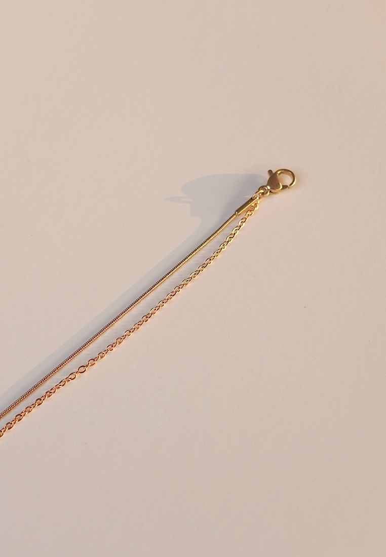 Aster Layered Anklet