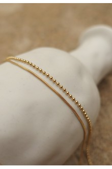 Astrid Layered Anklet