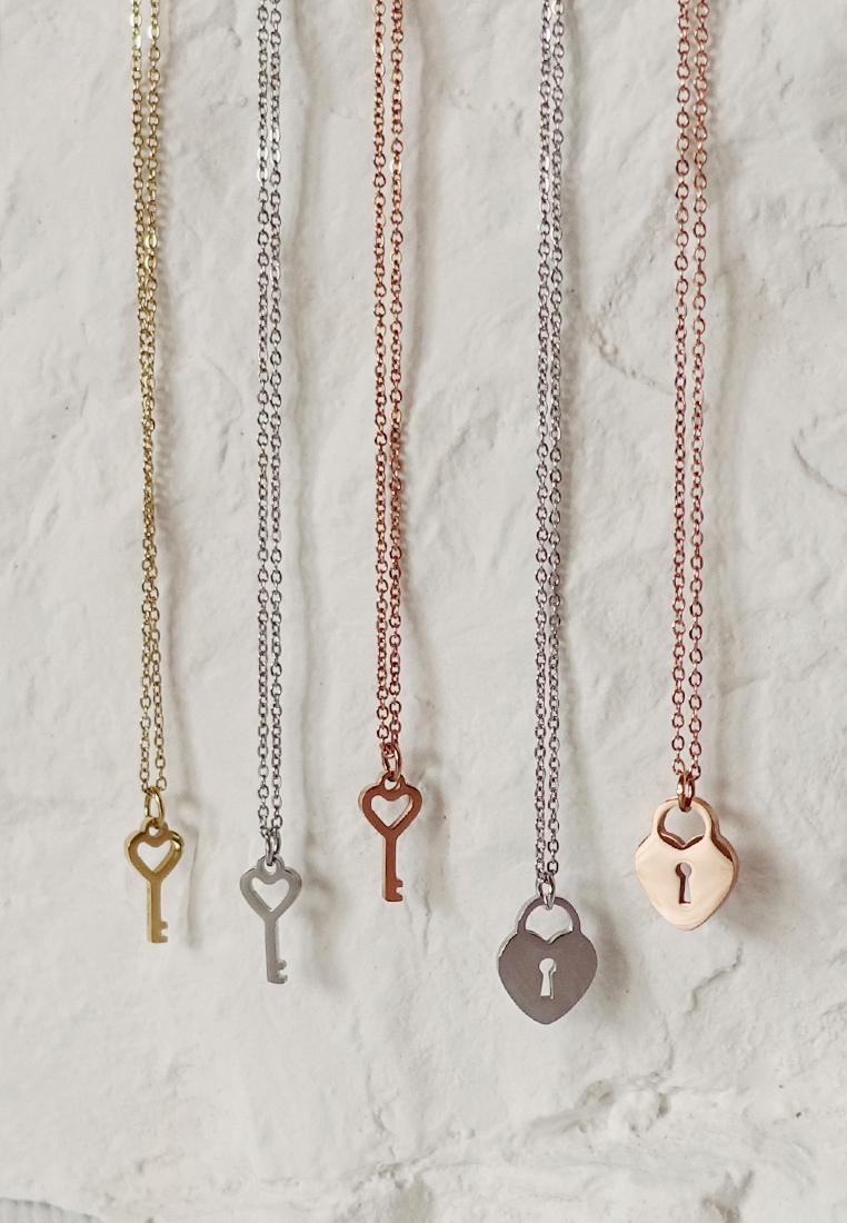 Harley Lock & Key Necklace