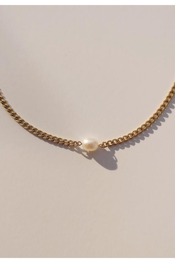 Yasmin Pearl Necklace